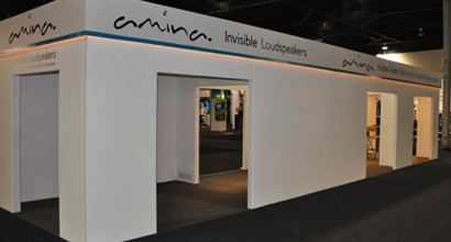 Amina Technologies - Exhibition Stand