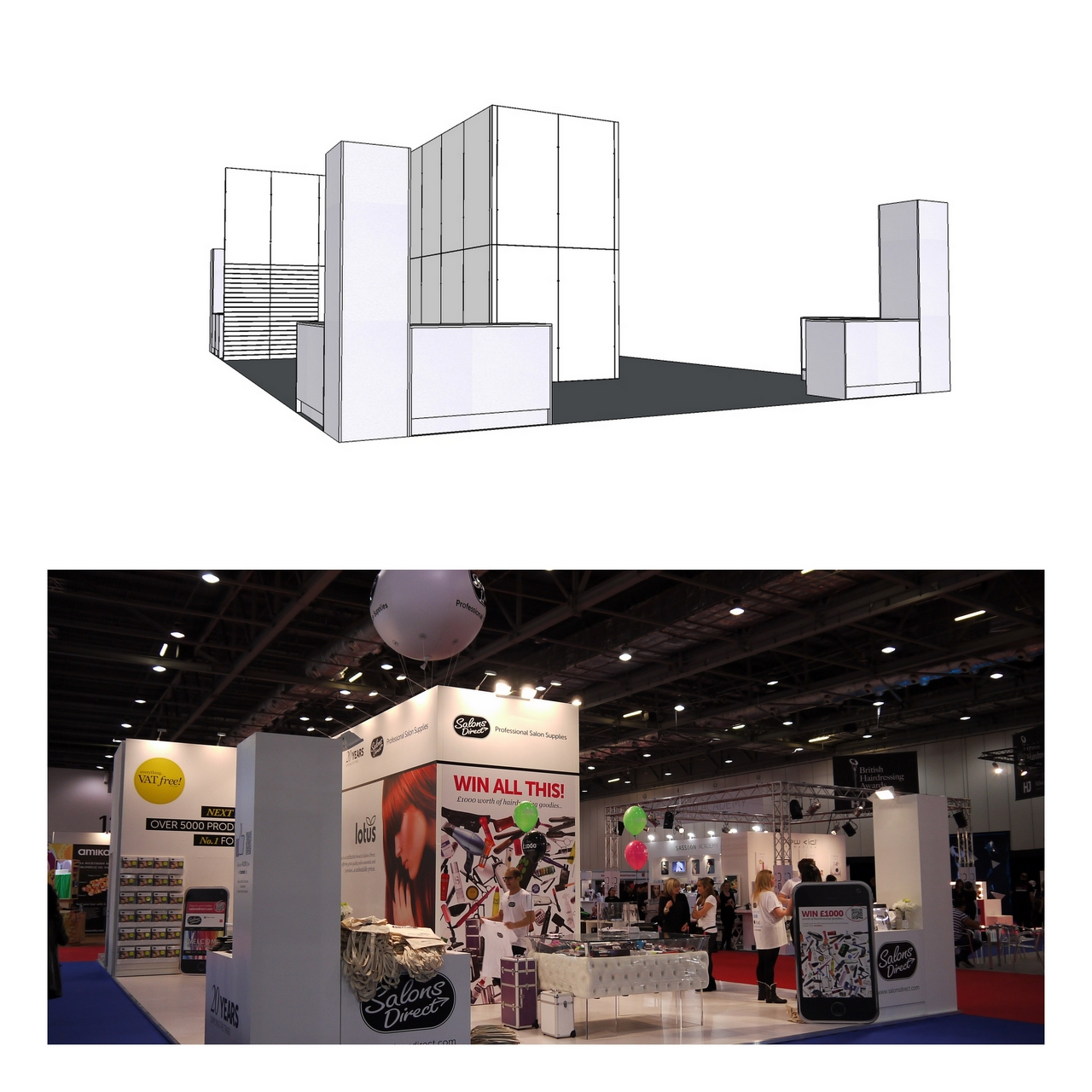 exhibition C Wall panels